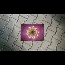 Mandala prebudenia-akryl na plátne