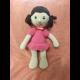 Háčkovaná hračka - BÁBIKA