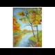 Markova rehabilitácia, obraz Jeseň pri vode