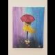 Dáma v daždi
