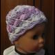 Jarná háčkovaná čiapočka B
