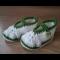 Háčkované papučky 10,5 -11cm