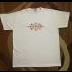 Tričko s vyšívaným ľudovým vzorom