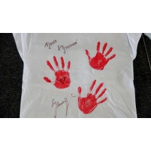 Originálne tričko s podpisom Danky Strculovej