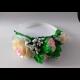 Čelenka zo saténových kvetov