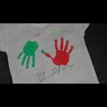 Originálne tričko s podpisom Richarda Müllera