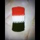 Pletené púzdro na mobil vo farbách Indie