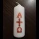 sviečka Alfa a Omega
