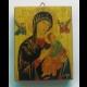 Obraz na dreve - Matka ustavičnej pomoci - 15x19 cm
