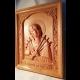 Drevený obraz - Sedembolestná Panna Mária- oroduj za nás