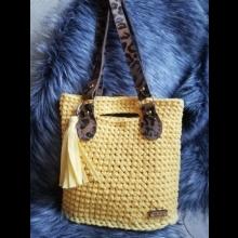 Kabelka z textilnej priadze