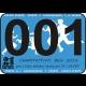 Štartovné číslo 001 - Buďte jedničkou na behu 21 km pre deti!