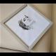 Obraz (19.5x19.5), ram+sklo