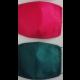 Kvalitné rúška 2ks zelené a červené