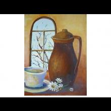 Markova rehabilitácia, obraz Ranná káva