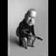 Portrét - karikatúra Marka Knopflera