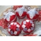 Sada šiestich vianočných gulí v ľubovoľnej farebnej kombinácii
