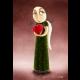Valentínka - reprodukcia digitálnej ilustrácie