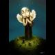 Anjel strážny - reprodukcia digitálnej ilustrácie