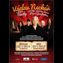 2 lístky na veľkolepý novoročný koncert Václava Neckářa
