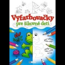 """Kniha """"Vyfarbovačky pre šikovné deti"""""""