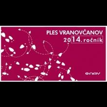 2 lístky na PLES VRANOVČANOV - v Bratislave