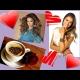 Valentín s Nelou Pociskovou - posedenie pri kávičke